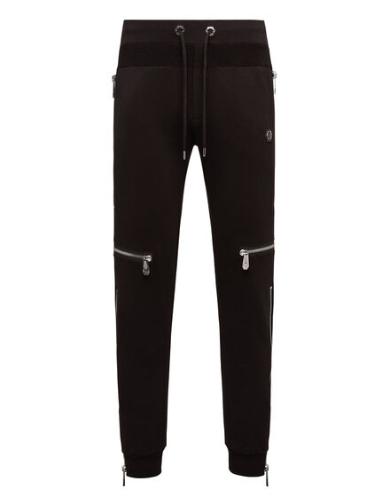 Jogging Trousers Zipped