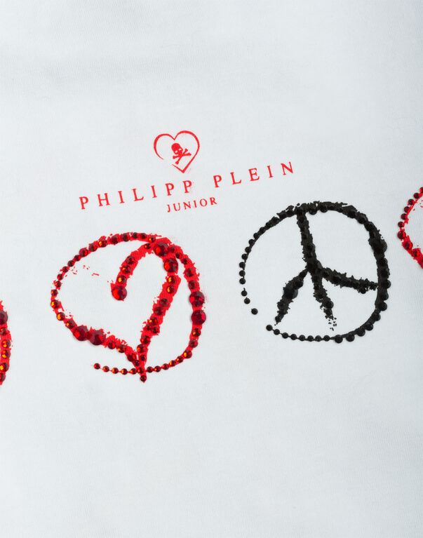 "t-shirt ""love and peace"""