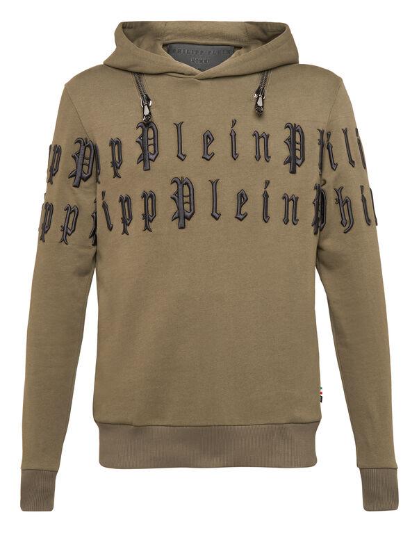 """Hoodie sweatshirt """"Gothic P"""""""