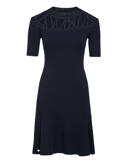 Knit Day Dress Twine