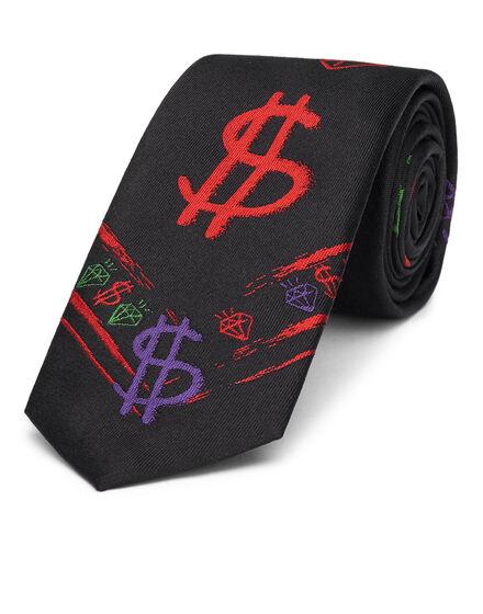 Thick Tie Graffiti