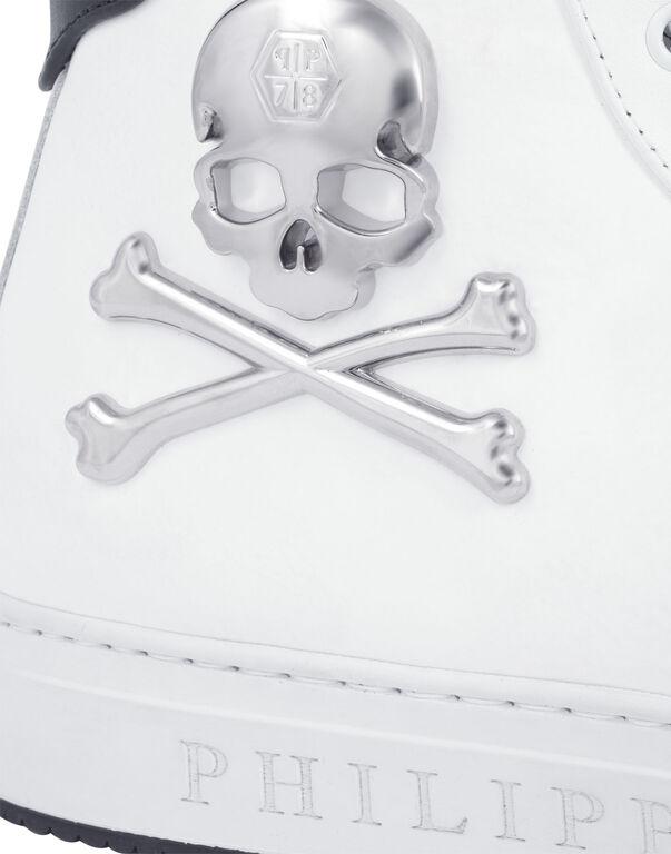 """high sneaker """"bones"""""""