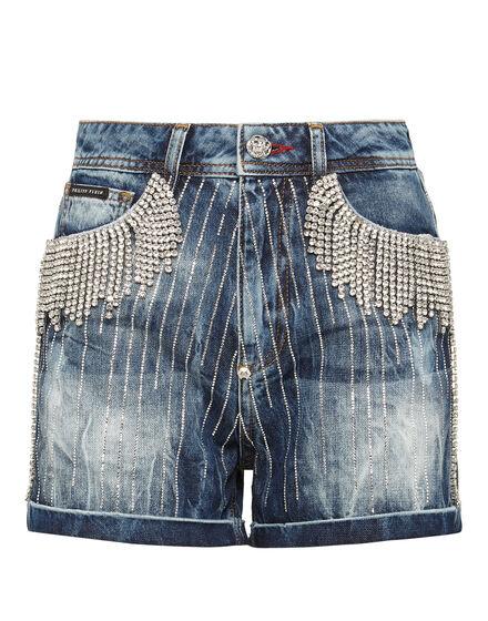 Hot pants Crystal Fringe