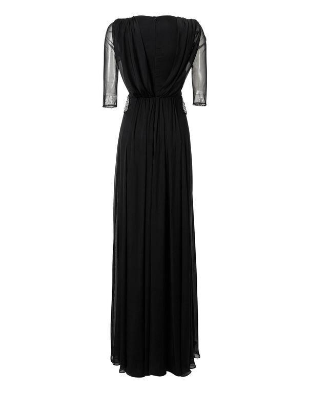 "Evening Dress ""Crystal Mat"""