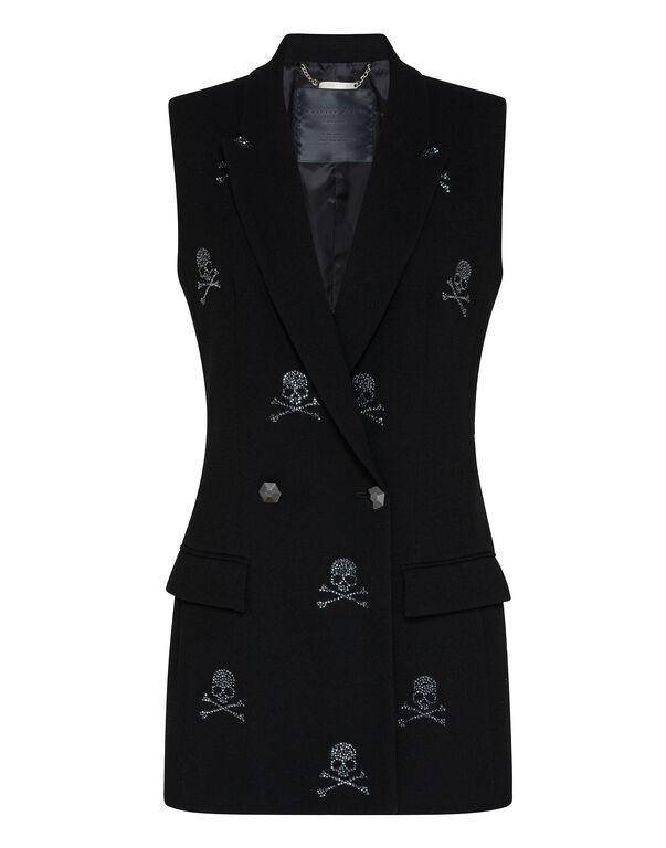 Short Vest Skull