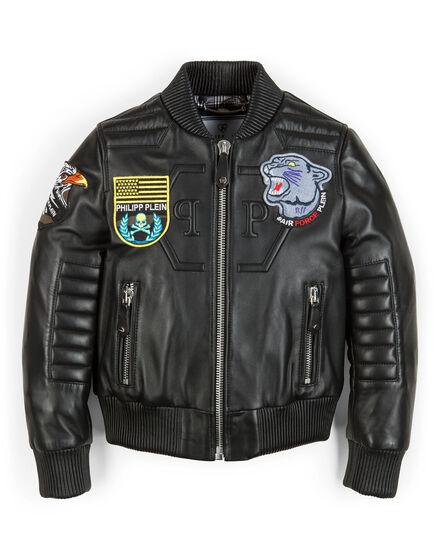 leather jacket good boy