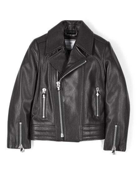 leather jacket in love