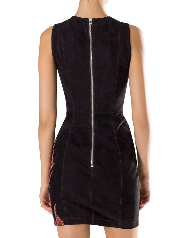 "Leather Dress ""Yaoundé"""