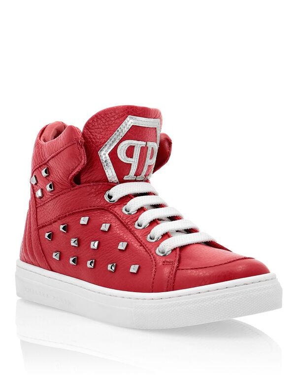 """Hi-Top Sneakers """"Simon"""" Studs"""