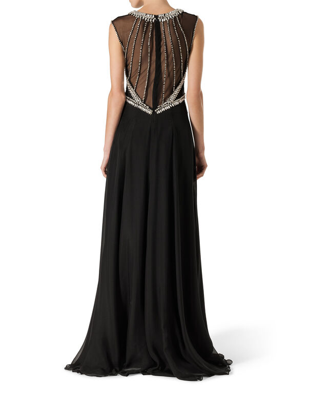 "Evening Dress ""Dreaming Crystal"""