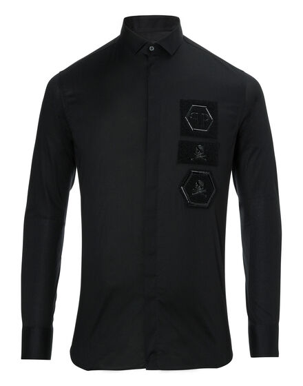Shirt Diamond Cut LS Foxy