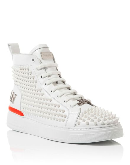 Hi-Top Sneakers Loden