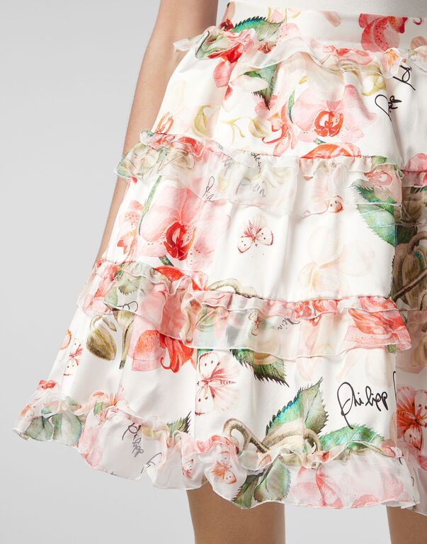 Short Skirt Flowers