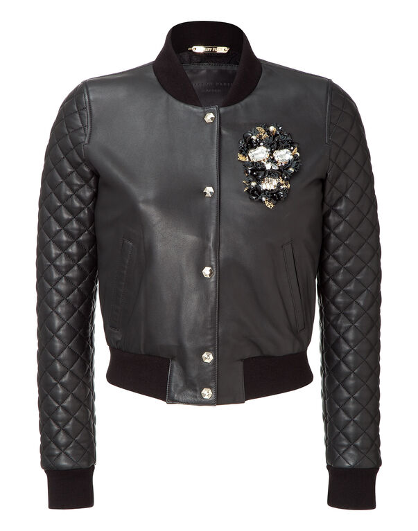 "leather bomber ""small enemy"""