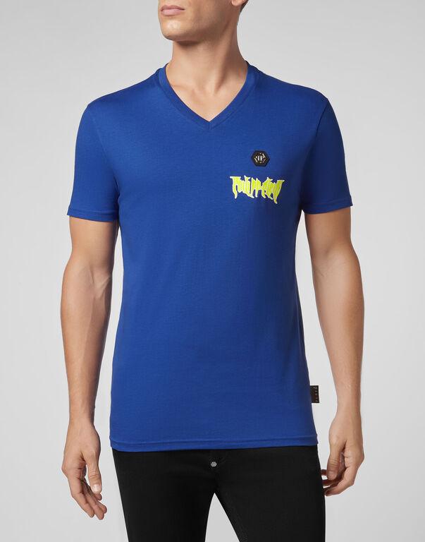 T-shirt V-Neck SS Rock PP