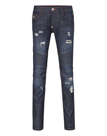 biker fit denim californication