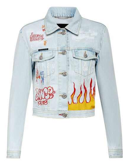 Denim Jacket Graffiti