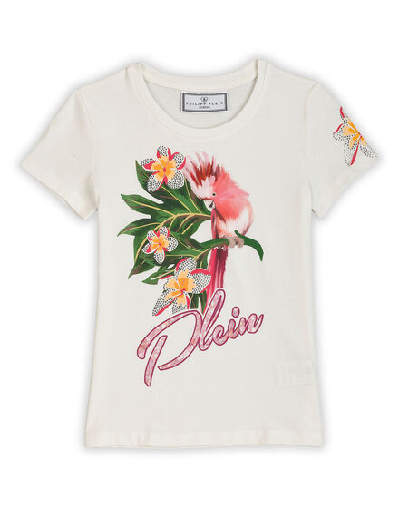 T-shirth Bouquet Parrot