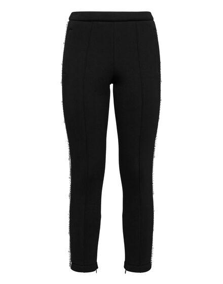 Jogging Trousers Crystal Braid
