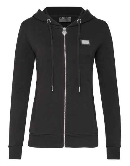 Hoodie Sweatjacket Plein Girls