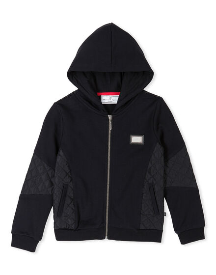 Hoodie Sweatjacket Red Mount