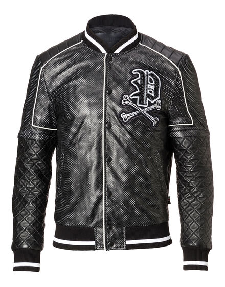 Leather Bomber Receive