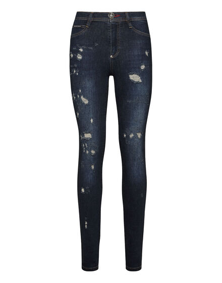 High Waist Jegging Skull