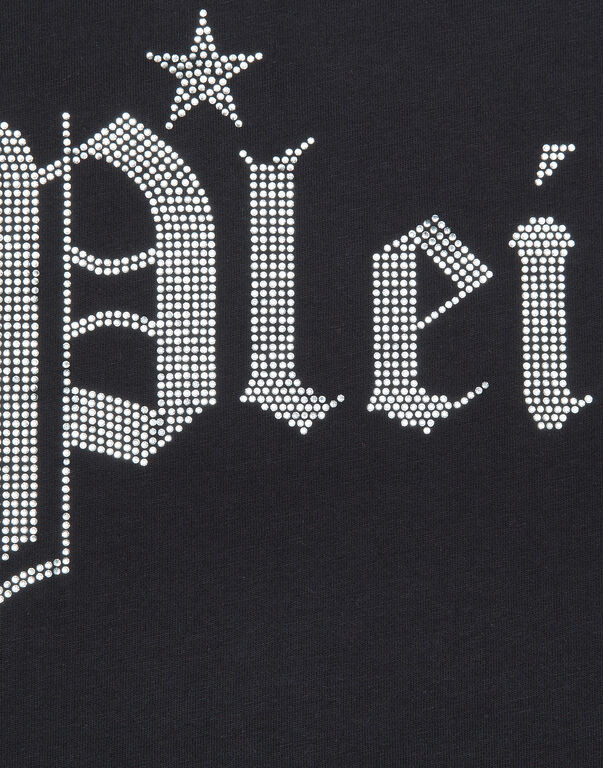 T-Shirt Short Dresses Gothic Plein