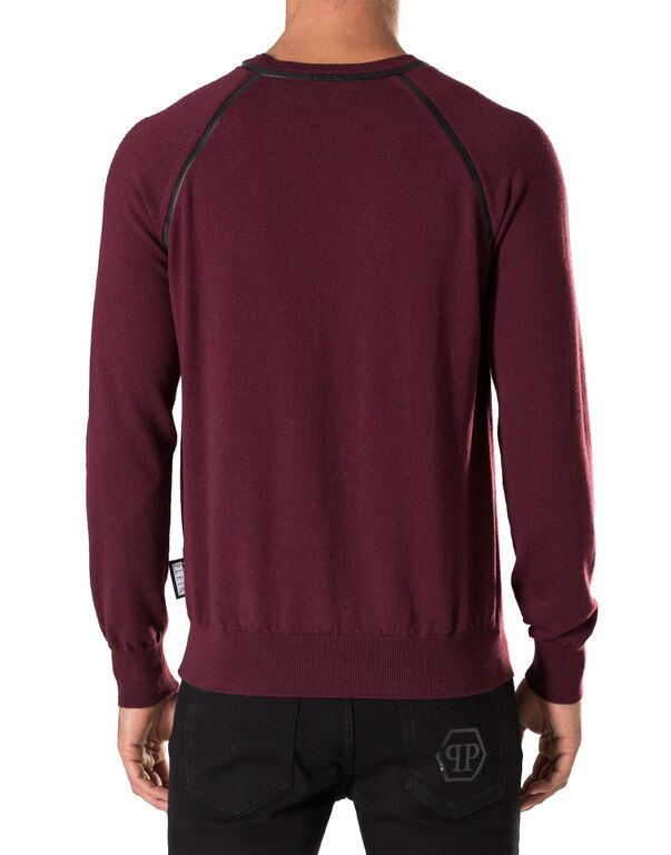 "Pullover V-Neck LS ""Wilde"""