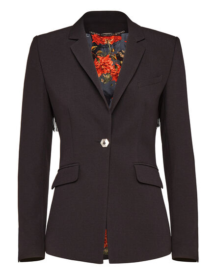 Blazer Red Flowers