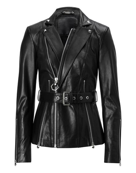 Leather Jacket Aprile Ferguson