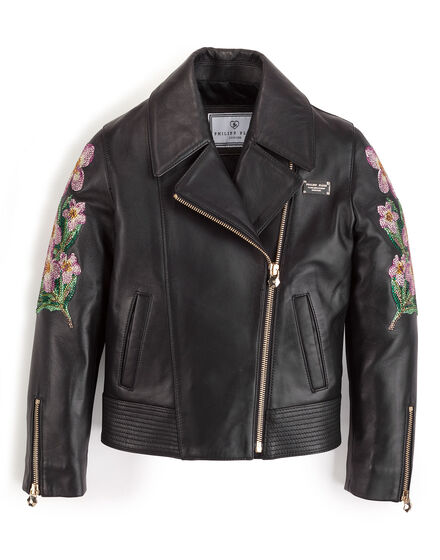 Biker jacket Sequins