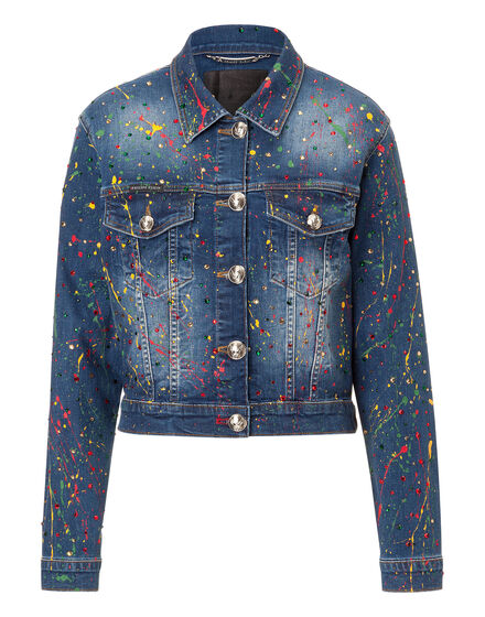 Denim Jacket Amaranto