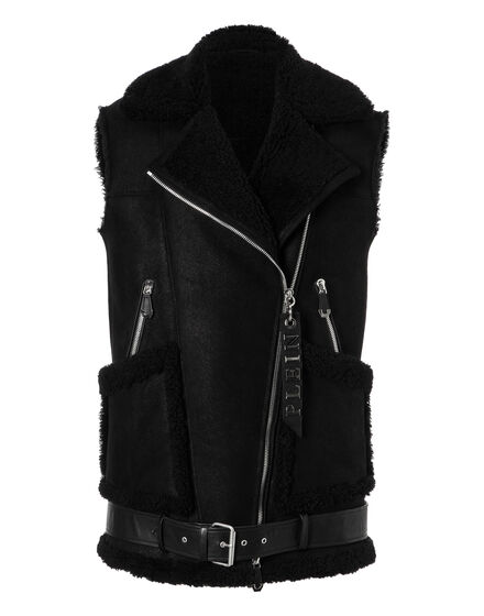 Leather Vest Short Extreme