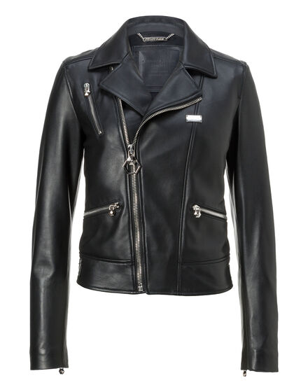 Leather Biker Sabbia