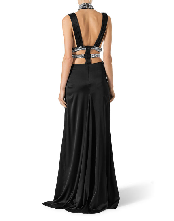 "Long Dress ""Black Stone"""