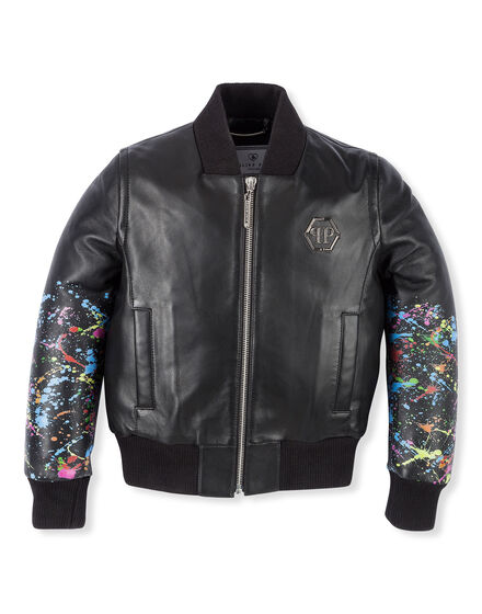 Leather Biker Monopolar