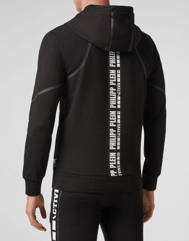 Hoodie Sweatjacket  Geometric