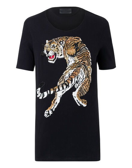 T-shirt Round Neck SS Tiger show