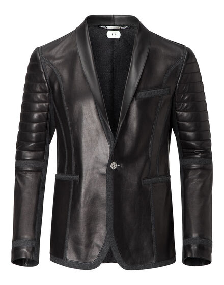 leather blazer join us