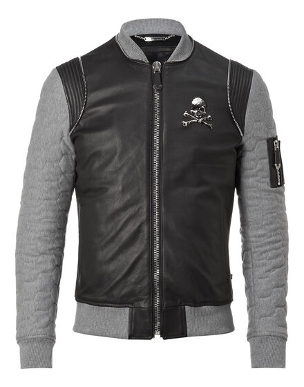 Leather Bomber Tribal