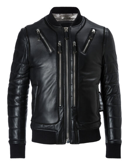 Leather Bomber Sean