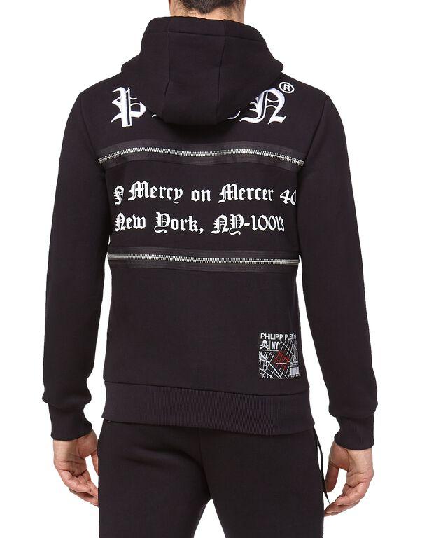 Hoodie Sweatjacket MM Gothic Plein