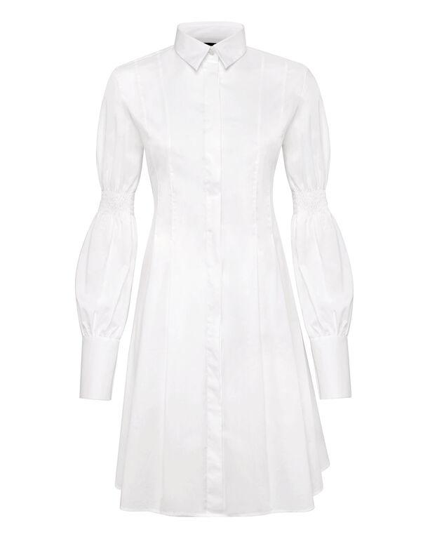 Shirt Dress Crystal Plein
