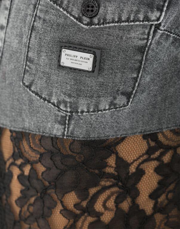 "denim shirt ""desire"""