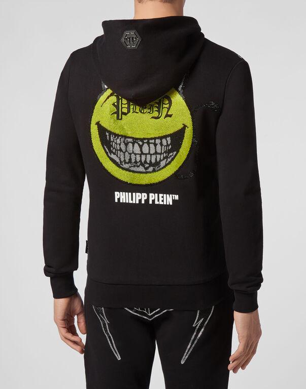 Hoodie Sweatjacket Evil Smile