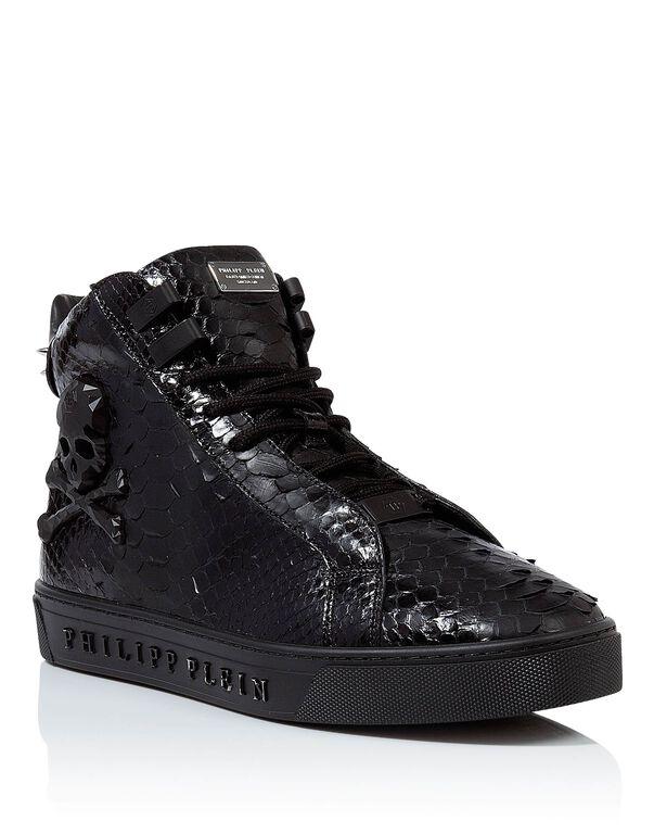 "Hi-Top Sneakers ""Emerald"""