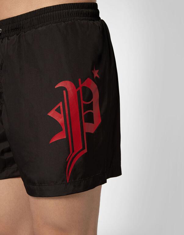 Boxer short beachwear Gothic Plein