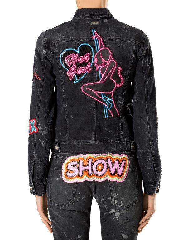 "Denim Jacket ""Show Time"""