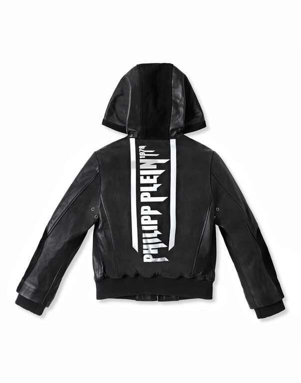 Leather Bomber Rock PP
